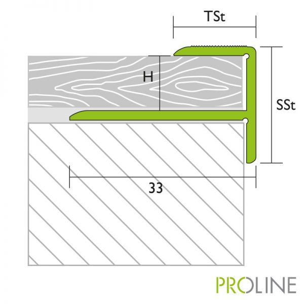 Proline Prostep 33mm