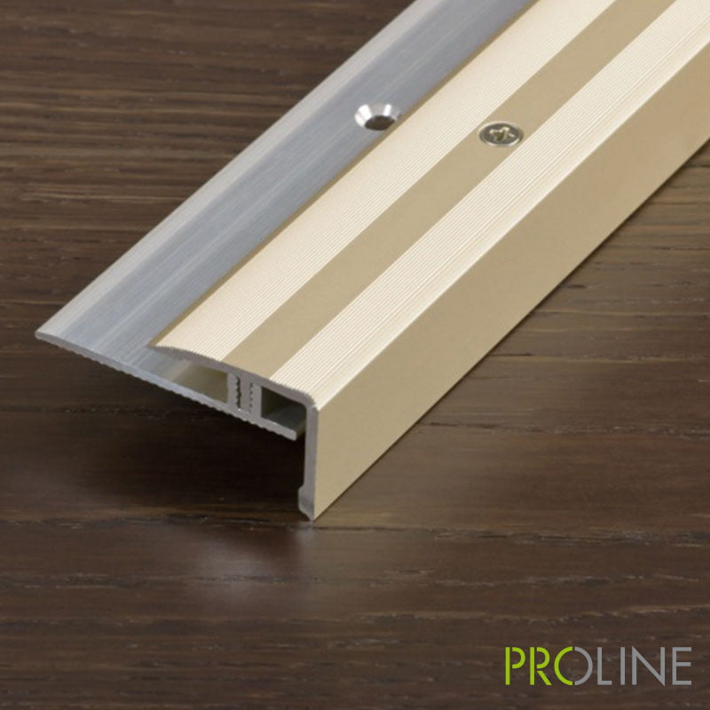 PROSTEP Voor Hout Hoogte 15-24 Mm Champagne 100 Cm – 383433