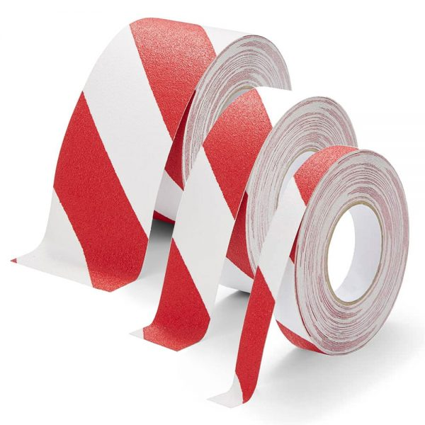 Antislip tape rood-wit